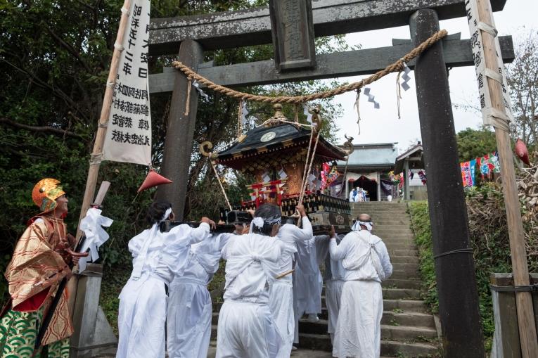田代島観光に便利な離島の宿「潮美荘」の網地島年間行事の紹介
