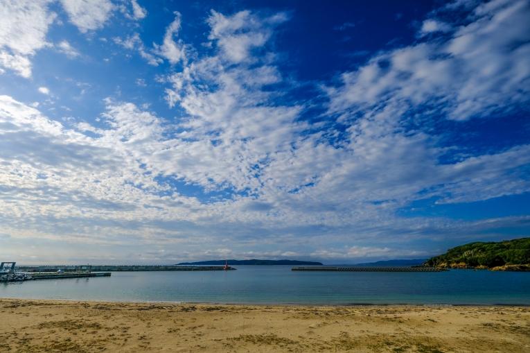 網地島の海 猫島で有名な「田代島」と潮美荘がある「網地島」を巡る離島の旅