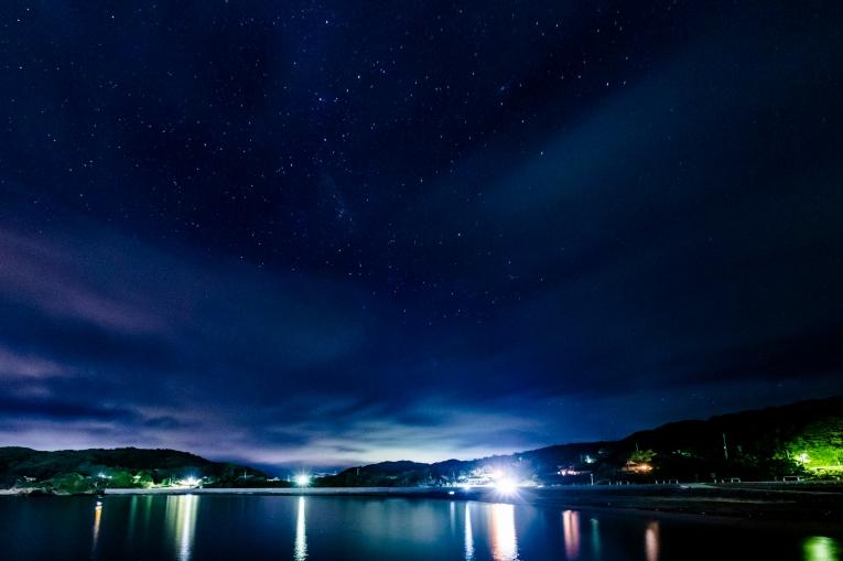網地島の星空 猫島で有名な「田代島」と潮美荘がある「網地島」を巡る離島の旅